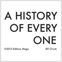 Okładka Bill Orcutt - A History Of Every One